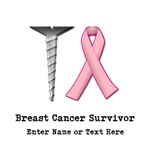 CUSTOMIZABLE Screw Breast Cancer