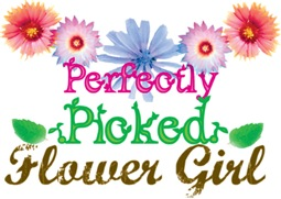 Pink Perfectly Picked Flower Girl