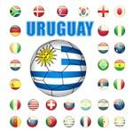 Uruguay 3-3056