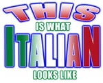 This is what ITALIAN looks like