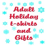Adult Holiday t-shirts and gifts