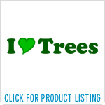 I Love Trees T-shirts