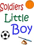 Soldier's little boy