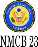 US Navy Veteran NMCB 23