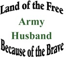 Land of the Free Army Husband