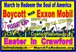 BOYCOTT - EXXON MOBIL