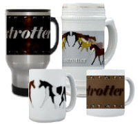 Foxtrotter Mugs and Steins