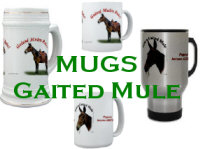 Gaited Mule Mugs