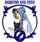Dorothy and Toto surrounded by a beautiful wizard of oz logo will help you remember and share your favorite wizard of oz moments.