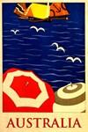 Australia, Vintage Poster