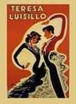Dancers, Flamenco, Vintage Poster