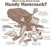 What's at the Bottom of Your Handy Haversack?