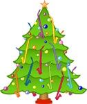 Alto Clarinet Christmas Tree
