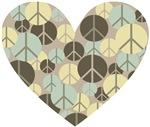 Heart full of peace