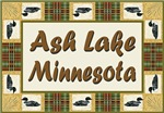Ash Lake Minnesota Loon Shop