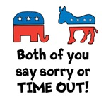 Bipartisan time out!