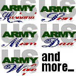 United States Army Stars & Stripes Family Designs