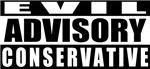 Advisory: Evil Conservative T-shirt