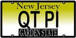 New Jersey Cutie Pie Vanity License Plate Design