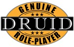 Genuine Role-Player Druid T-shirts & Gifts
