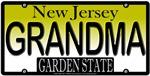 Grandmother New Jersey Vanity License Plate Design