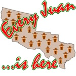 Every Juan Is Here (Anti Illegal Alien) Tshirts