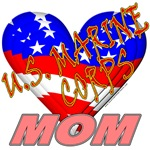 U.S. Marine Corps Mom T-shirts & Gifts