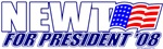 President Newt 2008 T-shirts, Apparel & Gifts