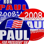 Ron Paul for President 2008 Buttons & Magnets