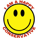 Happy Conservative/Whiney Liberal T-shirts & Gifts