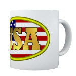 Patriotic USA Mugs