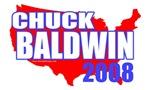 Chuck Baldwin America 2008 T-shirts & Gifts