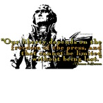 Thomas Jefferson Free Press Quote T-shirts & Gifts