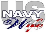 US Navy Wife Military T-shirts, Apparel & Gifts