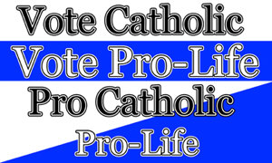 Bumper Stickers - Catholic and Pro-Life