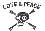 Love & Peace Skull