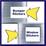 Bumper & Car stickers