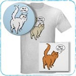 Tail Attitude Persian T-Shirts and Gifts