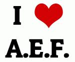 I Love A.E.F.