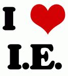 I Love I.E.