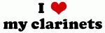 I Love my clarinets