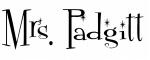 Mrs. Padgitt