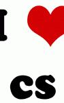 I Love cs