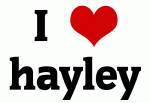 I Love hayley
