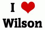 I Love Wilson