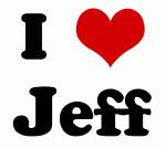 I Love Jeff