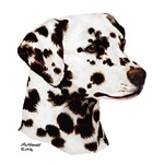 Dalmatian items with this design (liver & white)