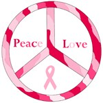 Peace Love Pink Ribbon