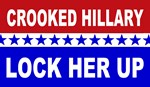 Crooked Hillary Lock her Up