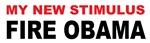 New Stimulus Fire Obama